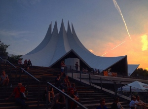 The Tempodrom on a hot summer night.