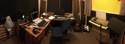 My recording room!